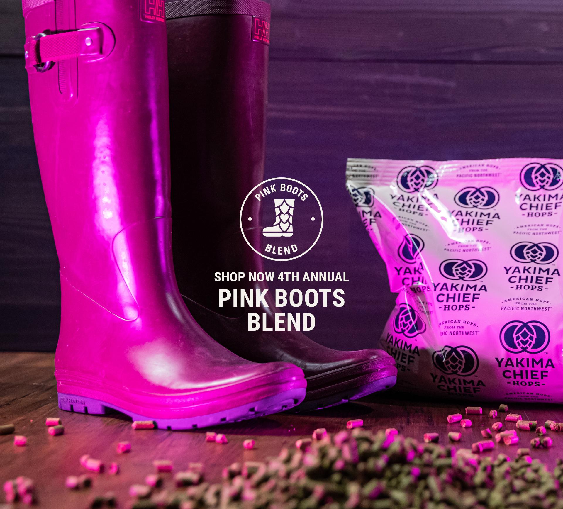 Pink Boots Blend