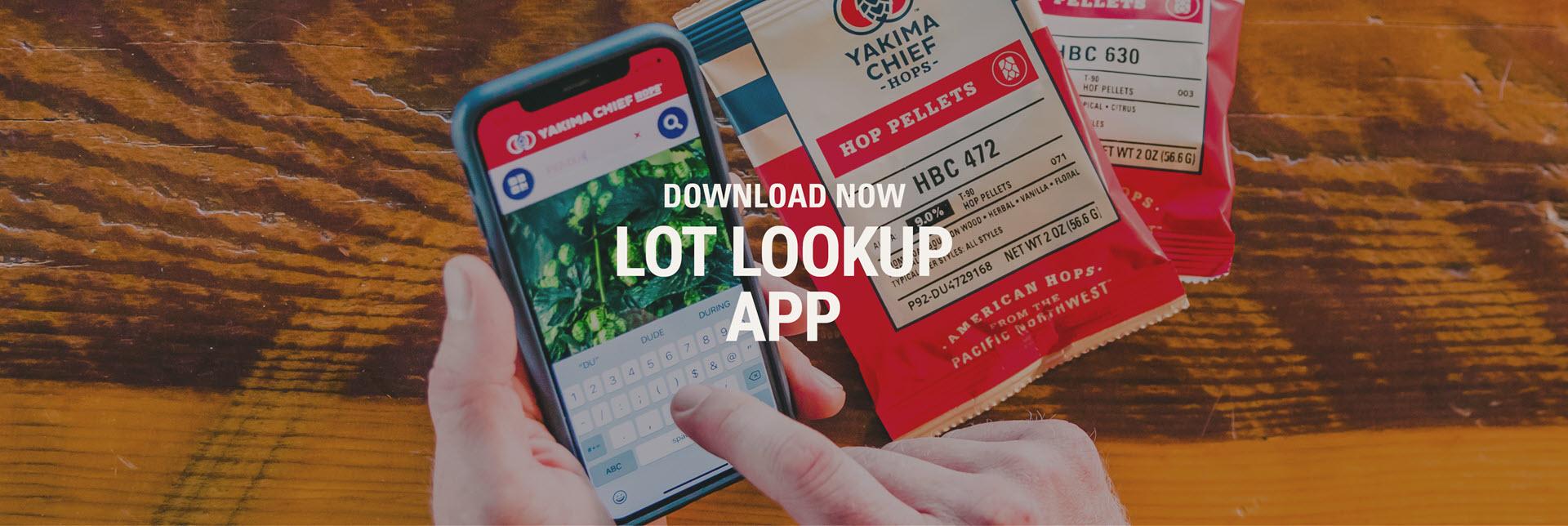 Lot Lookup App