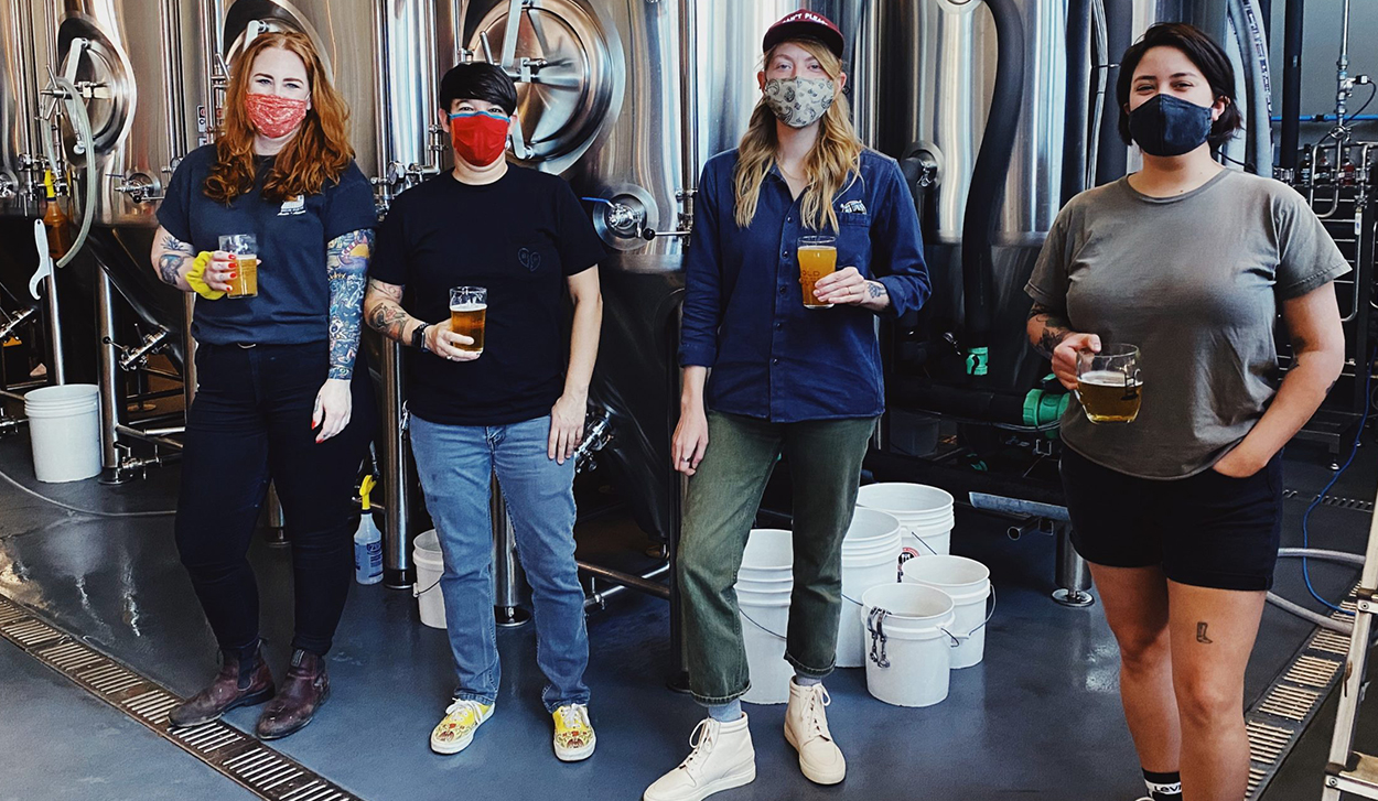 2021 Pink Boots Collaboration Brew Day: Hold Out Brewing